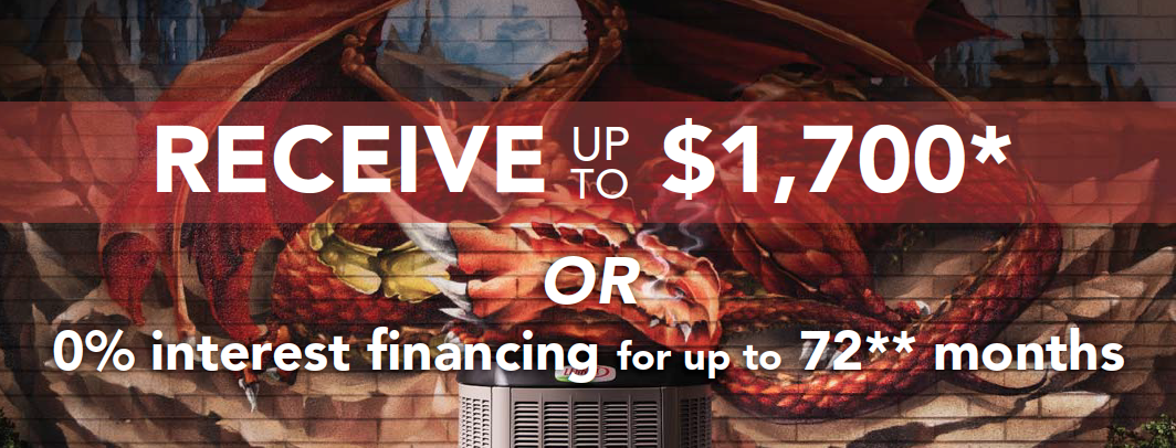 Save up to $1700 on a Lennox Air Conditioning System